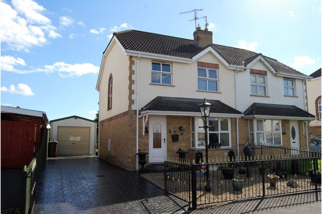 Thumbnail Semi-detached house for sale in Carrigart Manor, Craigavon