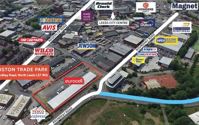 Light industrial to let in Ribston Trade Park, Roundhay Road, Leeds
