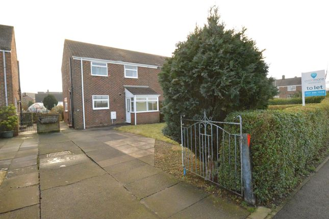 Thumbnail Semi-detached house to rent in Henry Avenue, Bowburn, Durham
