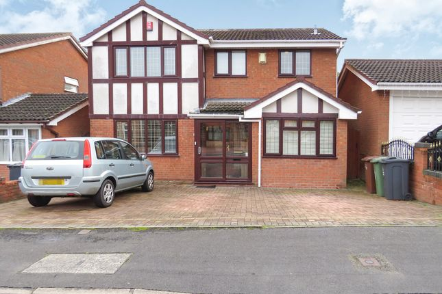 Thumbnail Detached house for sale in Meadowlands Drive, Shelfield, Walsall