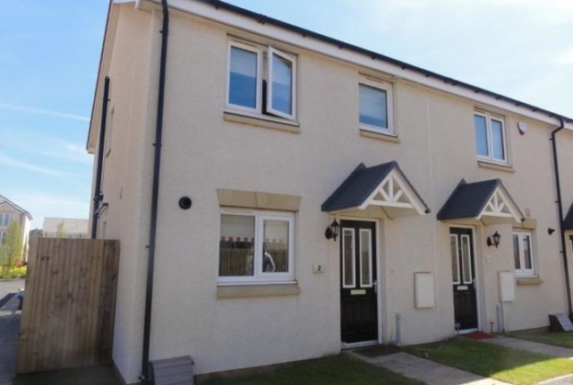 Thumbnail End terrace house to rent in 8 Arran Marches, Musselburgh