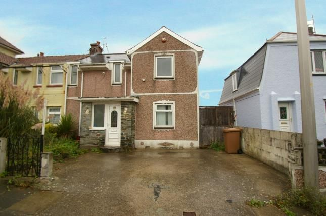 Thumbnail Semi-detached house for sale in Plymouth, Devon, England