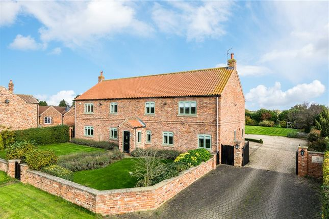 Detached house for sale in The Old Orchard, Hopperton, Knaresborough, North Yorkshire
