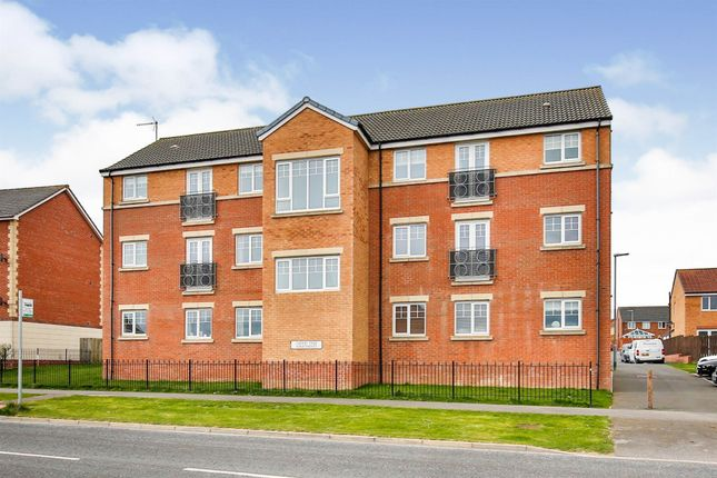 Thumbnail Flat for sale in Evergreen Close, Hartlepool