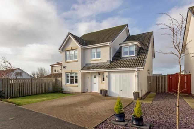 Thumbnail Detached house for sale in Graham Avenue, Stevenston, North Ayrshire