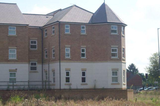 Thumbnail Flat to rent in Cherryburn Walk, Bilton, Rugby