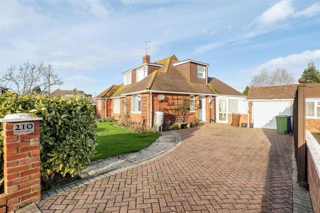 Thumbnail Semi-detached bungalow for sale in Sterling Road, Sittingbourne