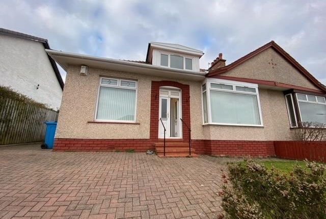 3 bed semi-detached house to rent in Merryton Avenue, Giffnock, Glasgow G46