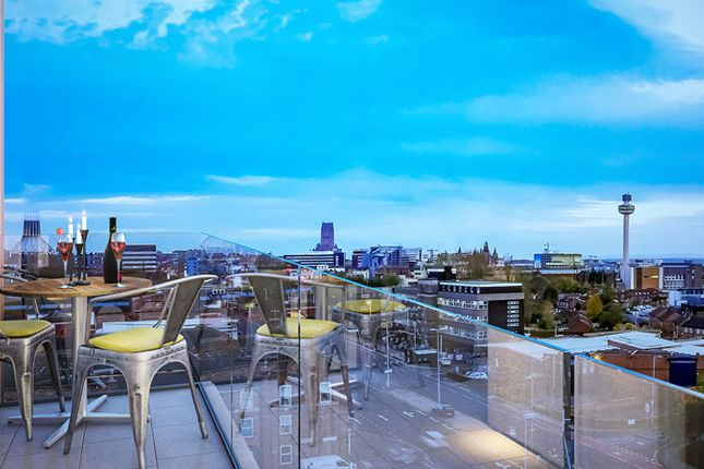 1 bed flat for sale in Azure Residential, Liverpool
