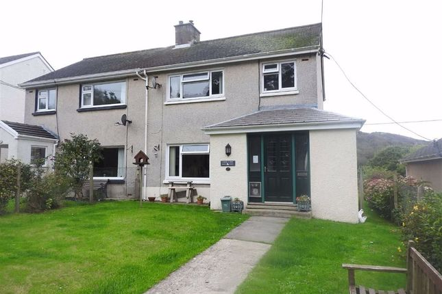 Thumbnail Semi-detached house for sale in Bro Crannog, Llangrannog, Ceredigion