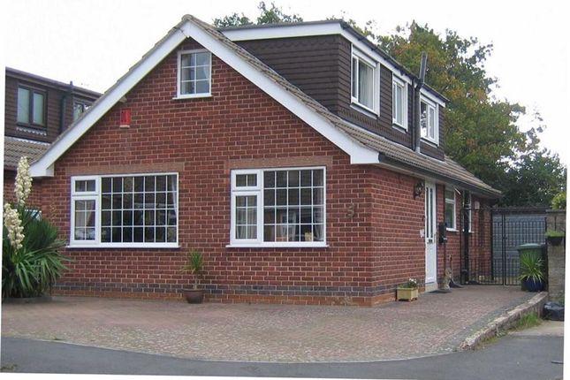 Thumbnail Detached bungalow for sale in Vicarwood Avenue, Holbrook, Belper