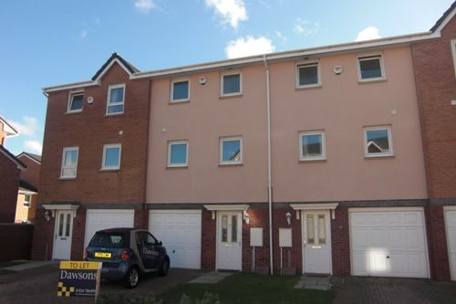 Thumbnail Town house to rent in Pentre Doc Y Gogledd, Llanelli