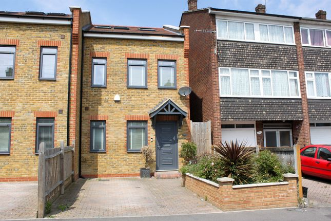 Thumbnail End terrace house for sale in Prospect Road, Woodford Green, Essex