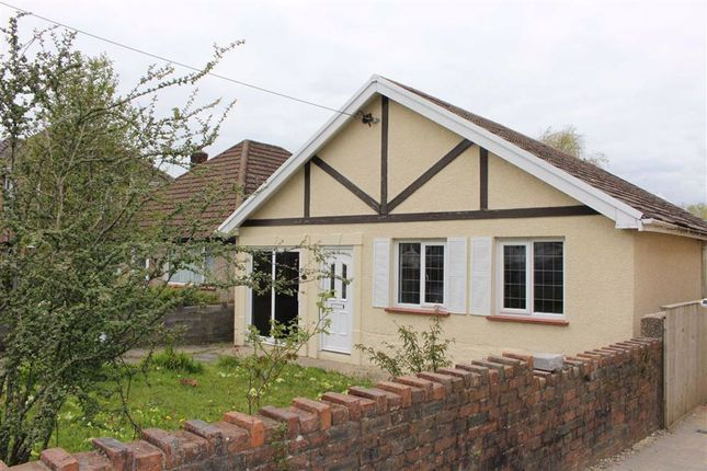 Thumbnail Detached bungalow for sale in Cecil Road, Gowerton, Swansea