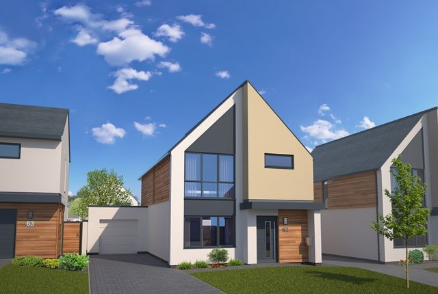 Thumbnail 4 bed detached house to rent in Catherines Close, Exeter