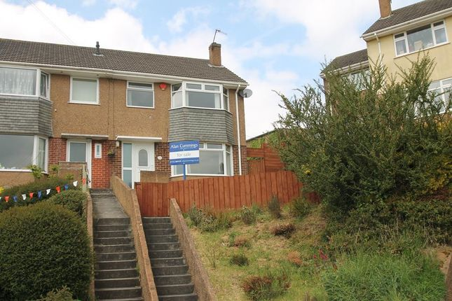 Thumbnail Semi-detached house for sale in Castleton Close, Plymouth