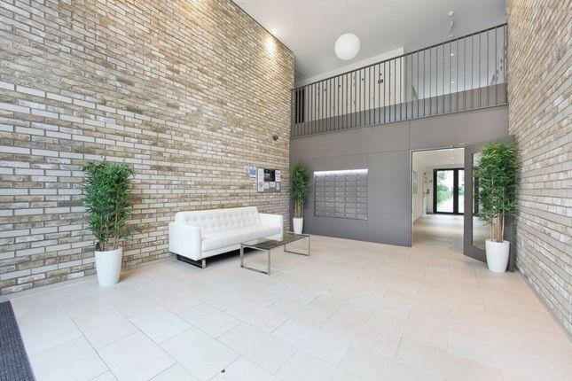 Thumbnail Flat to rent in Kingfisher Heights, 2 Bramwell Way, London