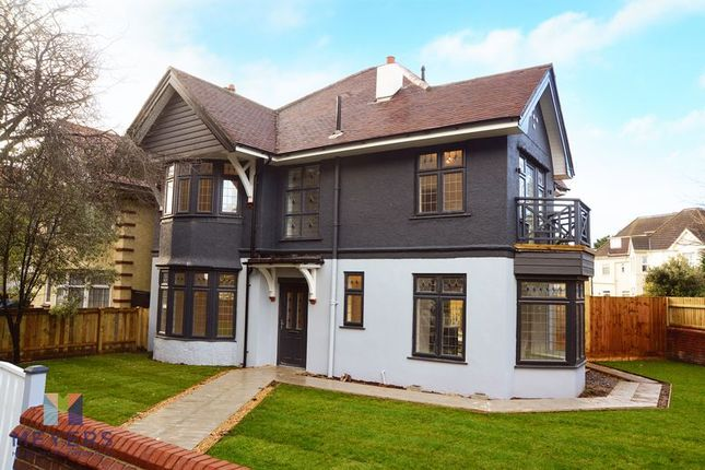 Thumbnail Detached house for sale in Belle Vue Road, Southbourne