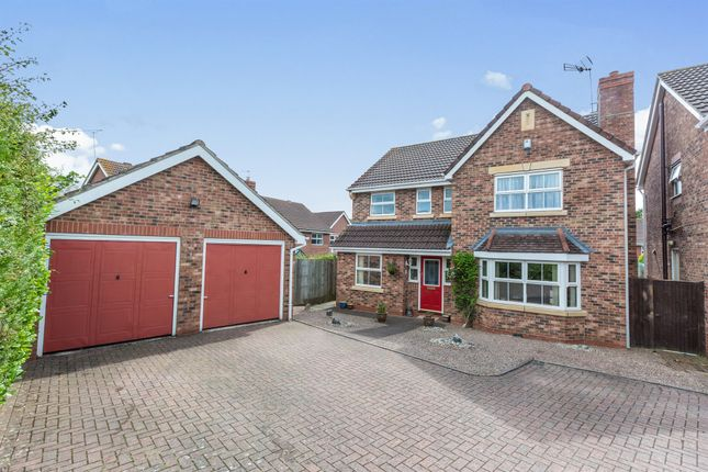 Thumbnail Detached house for sale in Sheridan Row, Worcester