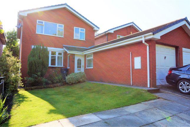 Thumbnail Link-detached house for sale in Windgate, Skelmersdale