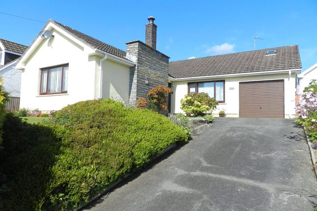 Thumbnail Detached bungalow for sale in Greystones, Rectory Road, Llangwm, Haverfordwest