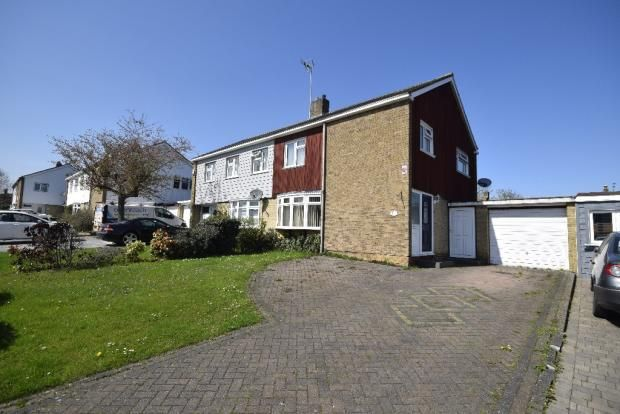 Thumbnail Semi-detached house for sale in Sparrows, Herne