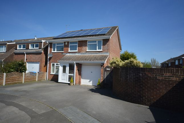 Thumbnail Detached house for sale in Hawker Close, Merley, Wimborne