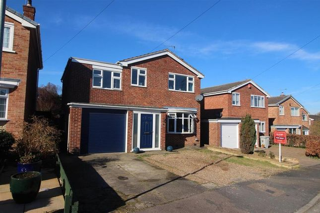 Thumbnail Detached house for sale in Reedings Close, Barrowby, Grantham