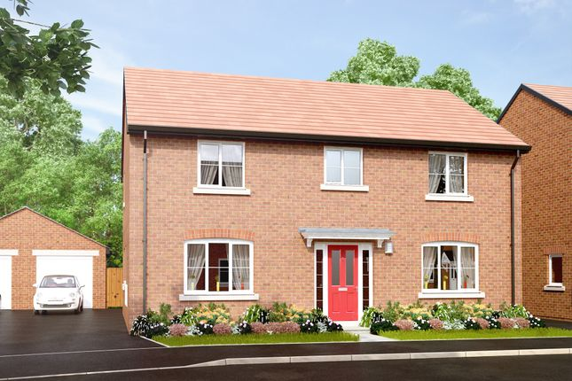 "Thumbnail Detached house for sale in ""The Hanley"" at Main Road, Kempsey, Worcester"