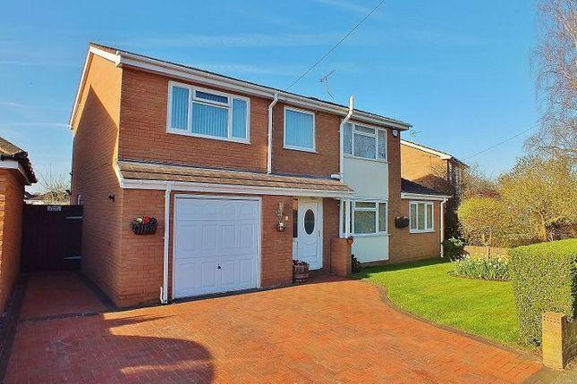 Thumbnail Detached house for sale in Sandown Road, Bangor-On-Dee, Wrexham