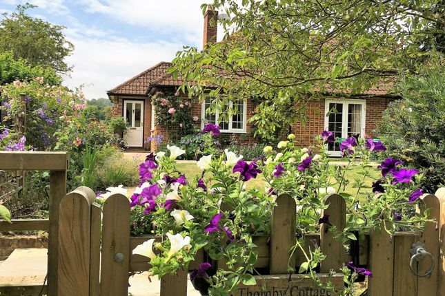 Thumbnail Detached bungalow for sale in Pilgrims Way, Stowting, Ashford, Kent