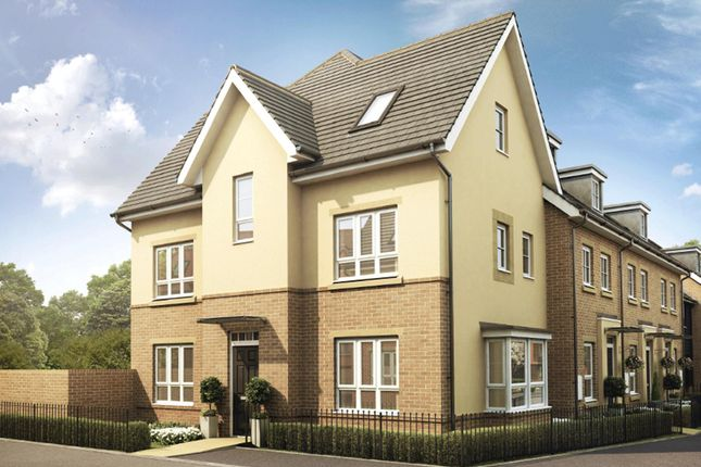 "Thumbnail End terrace house for sale in ""Hexham"" at Knights Way, St. Ives, Huntingdon"