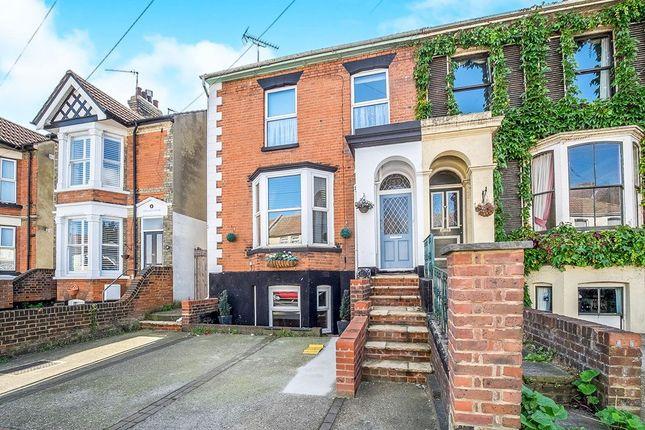 Thumbnail Semi-detached house for sale in Gillingham Road, Gillingham