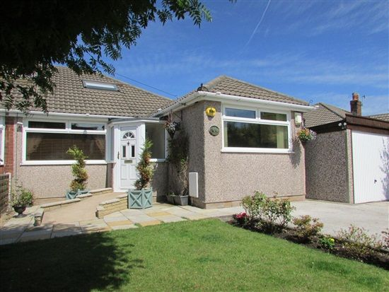 Thumbnail Bungalow for sale in Wingate Avenue, Morecambe