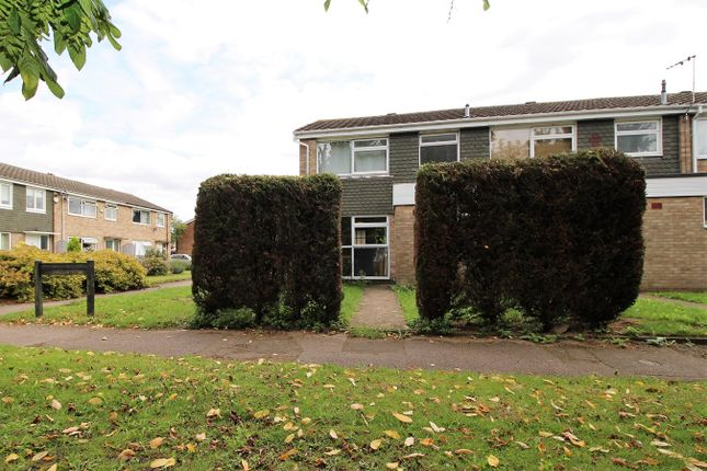 Thumbnail End terrace house to rent in Totnes Close, Bedford
