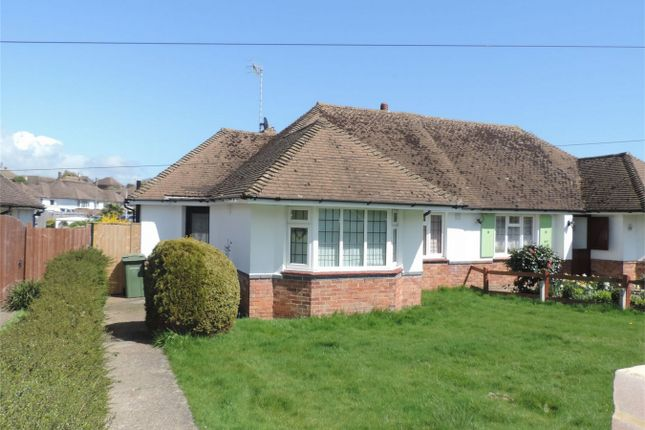 Thumbnail Semi-detached bungalow for sale in Holliers Hill, Bexhill On Sea, East Sussex