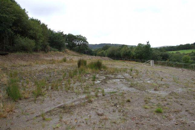 Thumbnail Land for sale in Plot 24 Faretg Fawr, Farteg Road, Bryn, Port Talbot