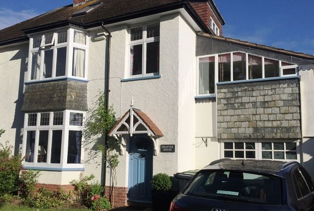 Thumbnail Semi-detached house to rent in Chapel Place, Fore Street, Topsham, Exeter
