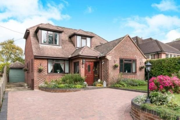 Thumbnail Detached house to rent in Pack Lane, Basingstoke