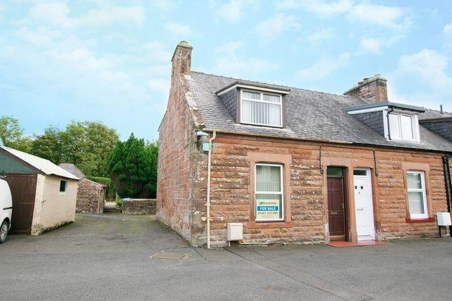 End terrace house for sale in 10 East Hecklegirth, Annan, Dumfries & Galloway