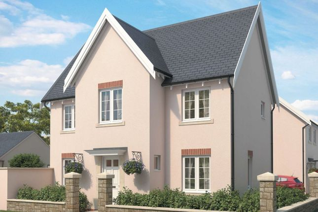 "Thumbnail Detached house for sale in ""Falmouth 4"" at The Green, Chilpark, Fremington, Barnstaple"