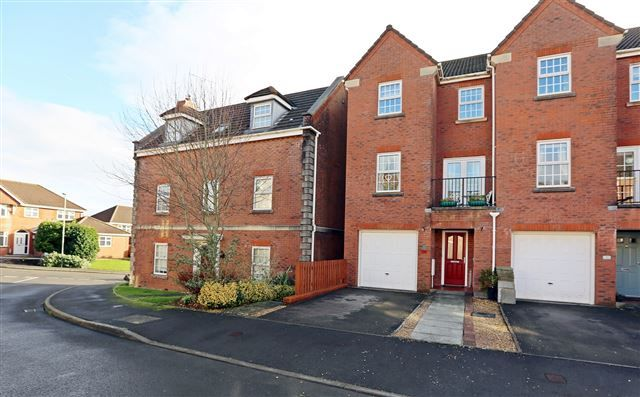Thumbnail Town house for sale in Fleming Walk, Church Village, Pontypridd