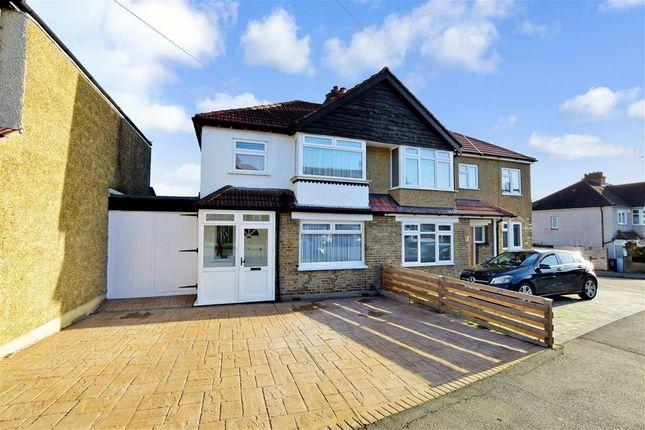 Thumbnail Semi-detached house for sale in Duke Of Edinburgh Road, Sutton, Surrey