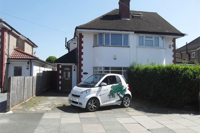 Thumbnail Semi-detached house to rent in Wood End Lane, Northolt, Middlesex