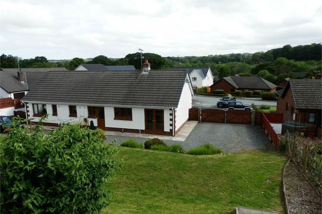 Thumbnail Detached bungalow for sale in Heol Dolannog, Ciliau Aeron, Nr Aberaeron