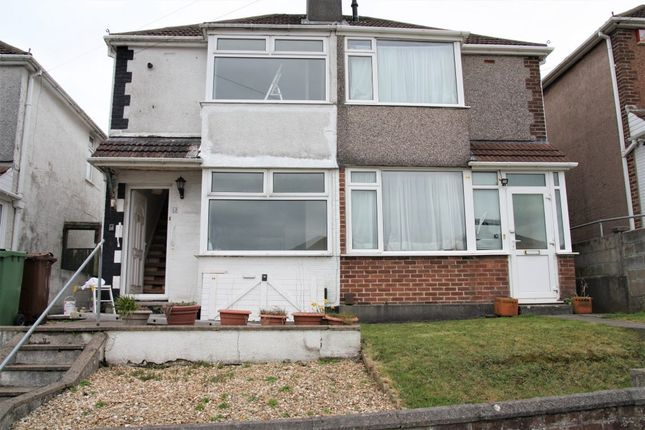 Thumbnail Semi-detached house to rent in Ferrers Road, Plymouth