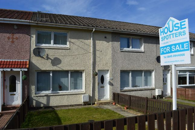 Thumbnail Terraced house for sale in Stemac Lane, Plains, Airdrie