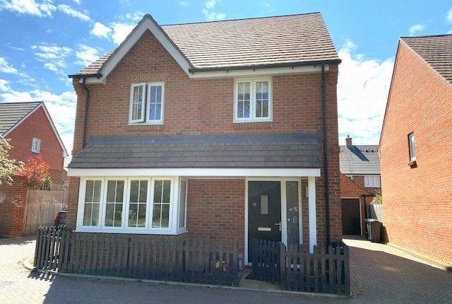 Thumbnail Detached house for sale in Delamere Gardens, Fair Oak, Eastleigh
