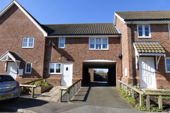 Thumbnail Terraced house to rent in Heathlands, Beck Row, Bury St. Edmunds