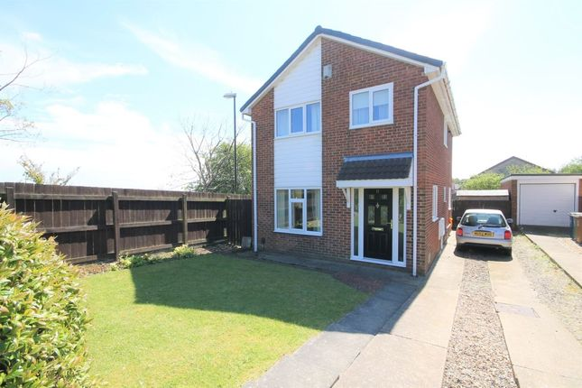 Thumbnail Detached house for sale in Morpeth Close, Washington